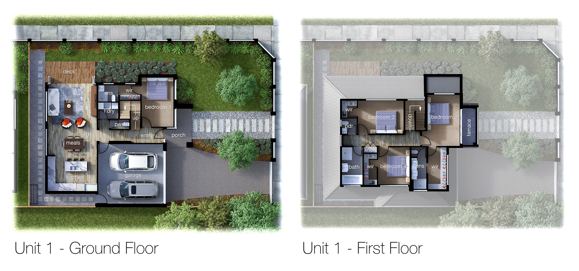 3d floor plan rendering cleanpix for Floorplan com