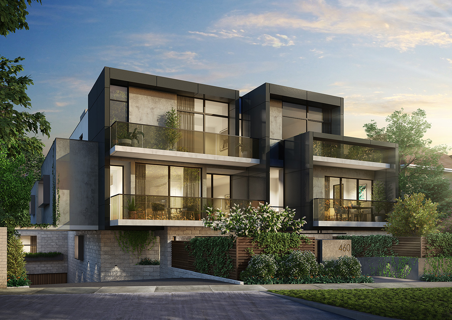 Exterior 3d rendering marketing 3d renders melbourne for Exterior 3d rendering