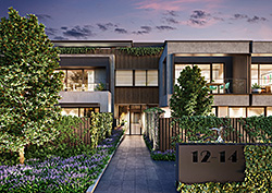 Bentleigh Apartments Entry View